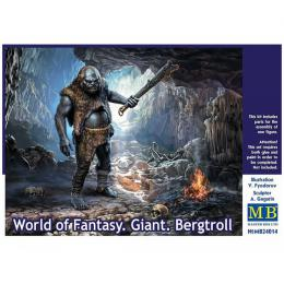 MASTERBOX 1/24 Giant. Bergtroll.World of Fantasy