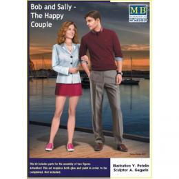 MASTERBOX 1/24 Bob and Sally The Happy Couple