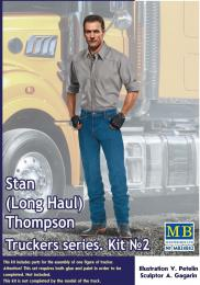 MASTERBOX 1/24 Stan(Long Haul) Thompson.Truckers series