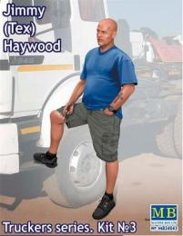 MASTERBOX 1/24 Jimmy( Tex) Haywood.Truckers series