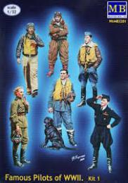 MASTERBOX 1/32 Famous Pilots Of WWII Kit 1