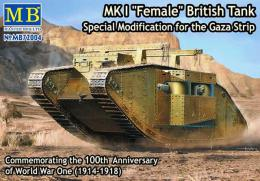 MASTERBOX 1/72 Mk.I Female Gaza Strip Mo