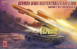 MODELCOLLECT 1/72 Waffenträger auf E-100 with V