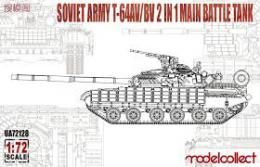 MODELCOLLECT 1/72 T-64AV/BV 2 in 1 Main Battle
