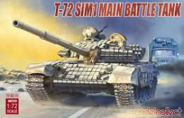 MODELCOLLECT 1/72 T-72 SIM1 Main Battle Tank
