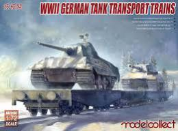MODELCOLLECT 1/72 German Tank Transport Trains