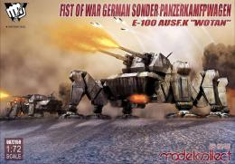 MODELCOLLECT 1/72 1/72 Fist of War German Sonder PanzerKamfpWagen E-100 ausf.K Wotan