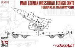 MODELCOLLECT 1/72 German V1 Missile Railway Car