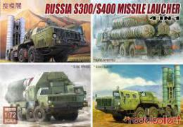 MODELCOLLECT 1/72 S-300/S-400 Missile 4in1