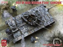 MODELCOLLECT 1/72 Fist of War German P.500 Assault Transporter Gungnir