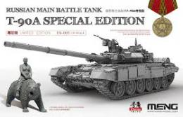 MENG 1/35 Russian Tank T-90A Special Edition w/Bears