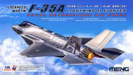 MENG 1/48 Lockheed Martin F-35A Lighting II Fighter Riyal Netherl AirForce
