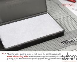 MENG MTS-024a Pallete Paper Refill Pack For Acrylic Paints