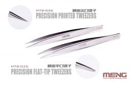 MENG MTS-036 Tweezers Precision Pointed Meng Model