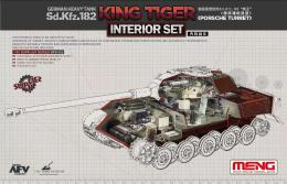 MENG 1/35  King Tiger (Porsche Turret) Interior