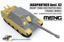 MENG 1/35 Jagdpanther Ausf. G2 Heavy Tank Destroyer Hull  in Travel Mode ( resin) - zvìtšit obrázek