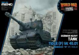 MENG WWT-015 Tiger (P) VK 45.01 - Cartoon Tank