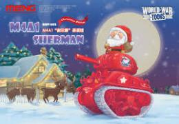 Meng WWV-002 M4A1 Sherman Christmas Edition