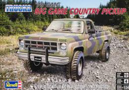 MONOGRAM 1/25 78 GMC BIG GAME COUNTRY P