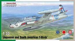 SPECIAL HOBBY 1/32 T-33 Japanese & South American T-Birds