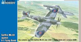 SPECIAL HOBBY 1/48 Spitfire Mk.XII vs. V-1 Flying Bomb 2in1