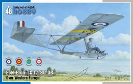 SPECIAL HOBBY 1/48 EoN Eton TX.1 / SG-38 Over Western Europe