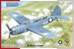SPECIAL HOBBY 1/72 SB2A-4 Buccaneer US Marines Bomber