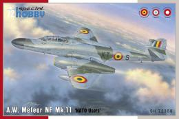 SPECIAL HOBBY 1/72 Meteor NF Mk.11 NATO Users
