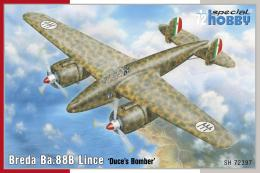 SPECIAL HOBBY 1/72 Breda Ba.88B Lince Duces Bomber