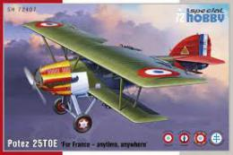 SPECIAL HOBBY 1/72 Potez 25 TOE For France