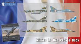 SPECIAL HOBBY 1/72 Mirage F.1 DUO PACK & Book