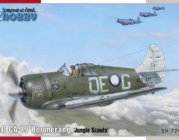 SPECIAL HOBBY 1/72 CAC CA-19 Boomerang Jungle Scouts