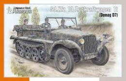 SPECIAL ARMOUR 1/72 Sd.Kfz.10 Zugkraftwagen 1t (Demag D7)