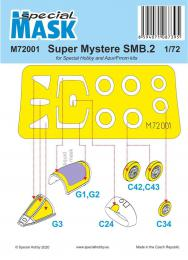 SPECIAL HOBBY 1/72 Mask for SMB-2 Super Myster