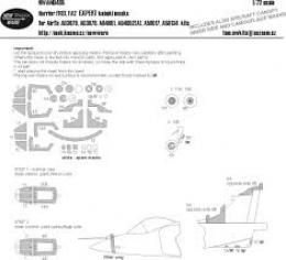 NEW WARE 1/72 Mask Harrier FRS. 1/FA2 EXPERT for AIR
