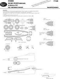 NEW WARE 1/72 Mask MiG-25RBT ADVANCED for ICM 72172