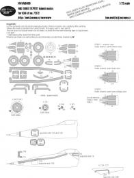 NEW WARE 1/72 Mask MiG-25RBT EXPERT for ICM 72172
