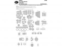 NEW WARE 1/48 Mask He 111 H-20 BASIC for ICM 48264