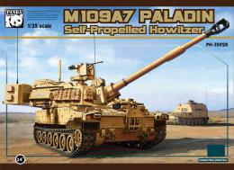 PANDA 1/35 M-109A7 Paladin Heavy Self Propelled Gun