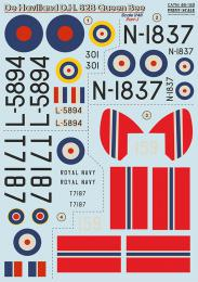 PRINT SCALE 1/48 De Havilland DH 82B Queen Bee