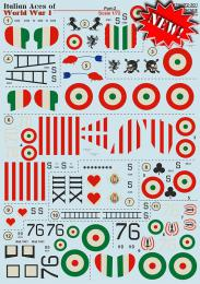 PRINT 1/72 Italian Aces of WWI - part 2