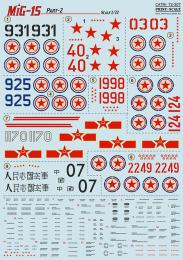 PRINT 1/72 MiG-15 Korean War - part 2