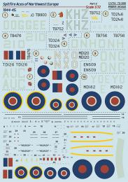PRINT SCALE 1/72 Spitfire Aces of  Europe 1944-45, part 2