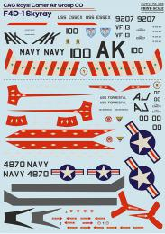 PRINT SCALE Decals 1/72 F4D-1 Skyray