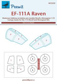 PEEWIT 1/72 Canopy mask EF-111A Raven for REV