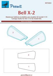 PEEWIT 1/72 Canopy mask Bell X-2 for AZ