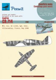 1/72 Paper Camouflage mask Caudron CR.714 for RS