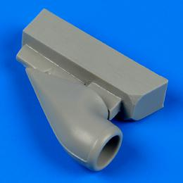 QUICKBOOST 1/32 Bf 109G-6 correct air intake for REV