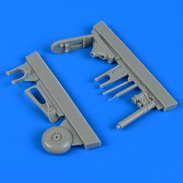 QUICKBOOST 1/32 Fw 190F-8 tail wheel assembly for REV
