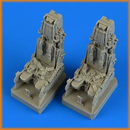 QUICKBOOST 1/32 EF Typhoon ej. seats with safety belts For REV